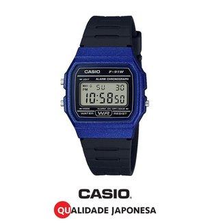 Relógio Casio Digital F-91WM-2ADF