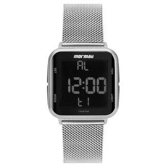Relógio Digital Mormaii Digi Prata Mo6600Ak/7K Feminino
