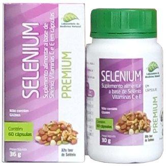 Selênio Premium Com Vitamina C E E 60 Cápsulas