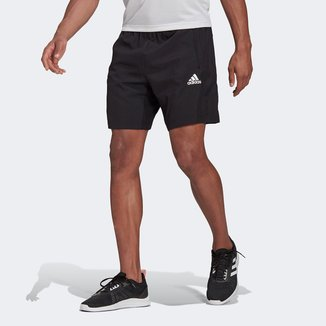 Short Adidas D2M Plano Masculino