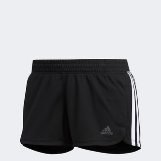 Short Adidas Pacer 3 Listras Feminino