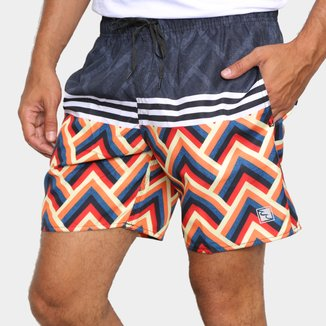Short Ventury City Geometric Color Masculino