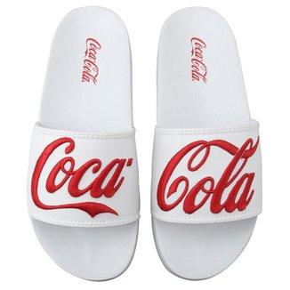 Slide Coca Cola Detalhe Bordado Masculino