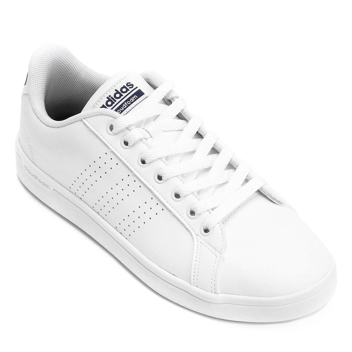 88e1b9c08 Tênis Adidas Cf Advantage Clean Masculino - Branco e Marinho | Allianz  Parque Shop