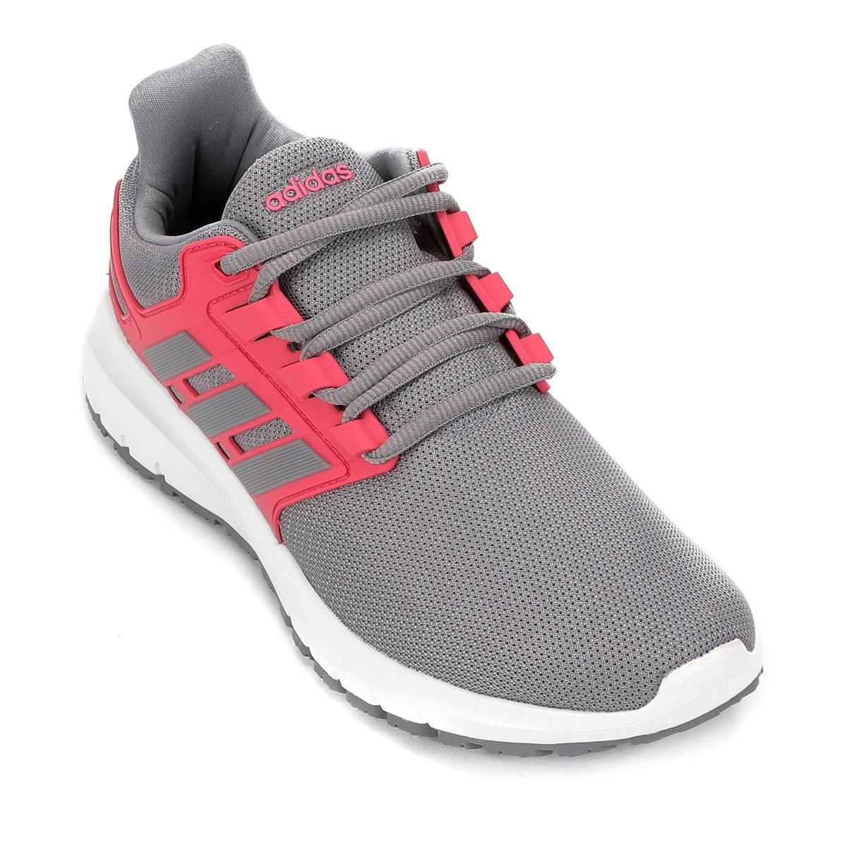 c17d9946c0 Tênis Adidas Energy Cloud 2 Feminino - Cinza e Rosa - Compre Agora ...