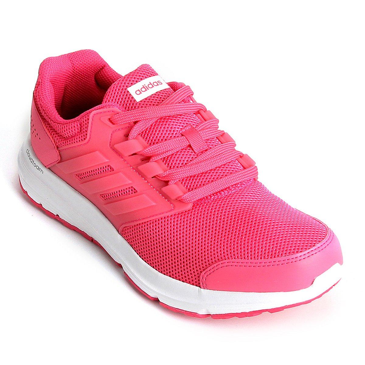 5920b437693 Tênis Adidas Galaxy 4 Feminino - Rosa - Compre Agora