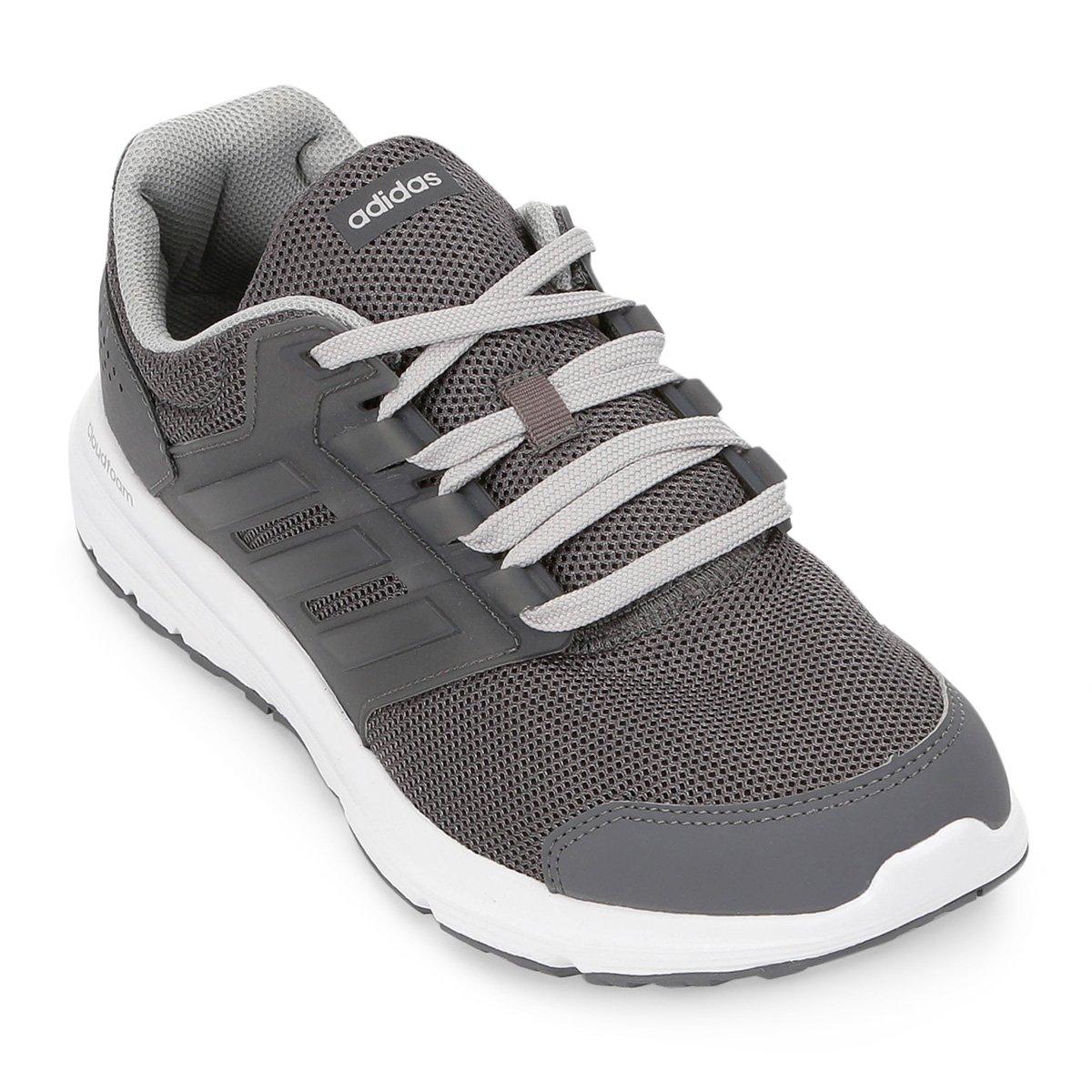 8ce6d4e40 Tênis Adidas Galaxy 4 Masculino - Cinza - Compre Agora