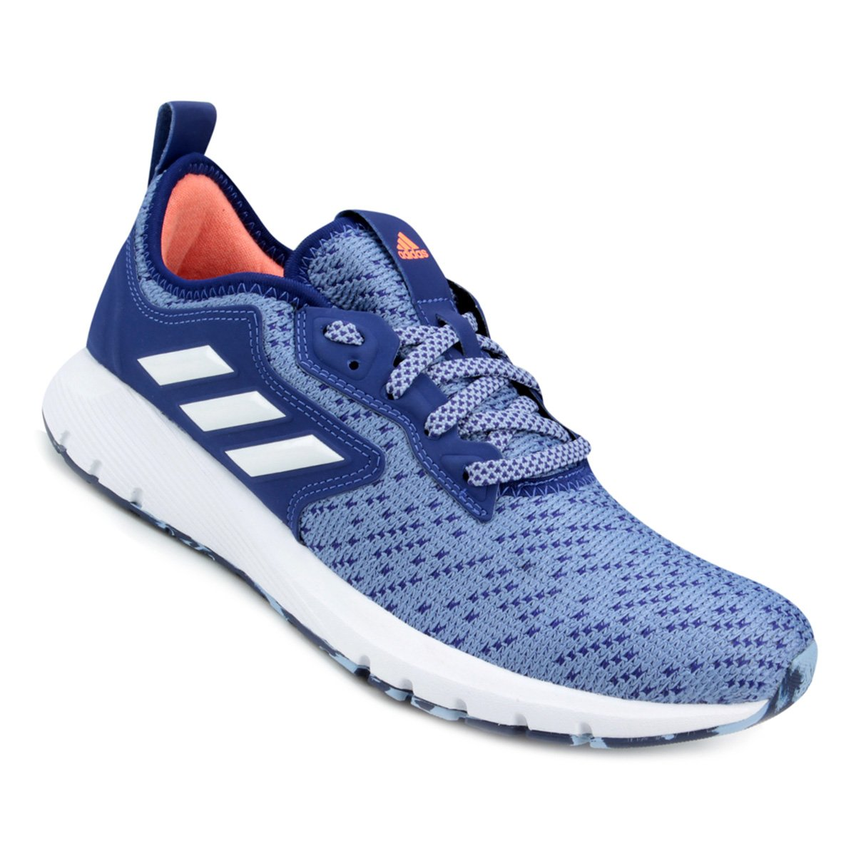 9b0539e7a7 Tênis Adidas Skyfreeze 2 Feminino - Azul e Branco - Compre Agora ...