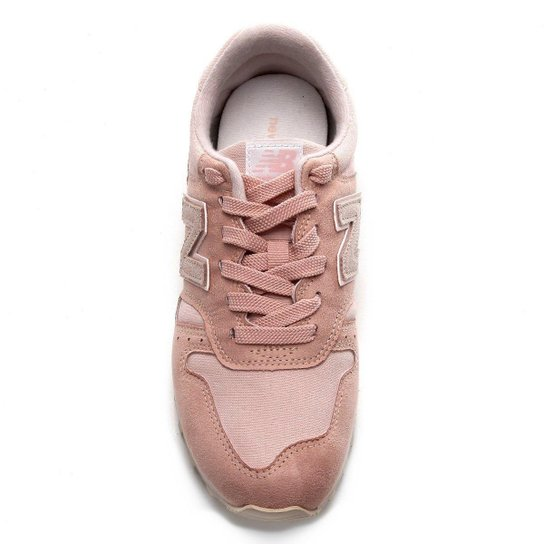 Juicio galón precio  Tênis New Balance 373 Core Classic Feminino - Rosa e Branco ...