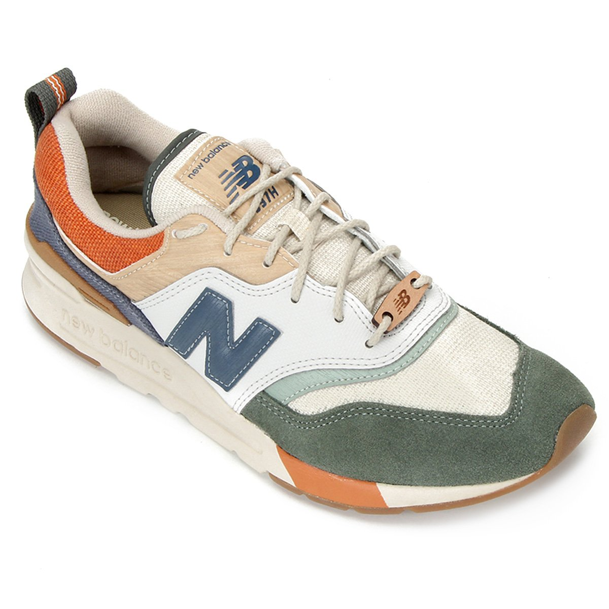 Pepino Sip Chaise longue  Tênis New Balance 997 Masculino - Branco e Bege | Allianz Parque Shop