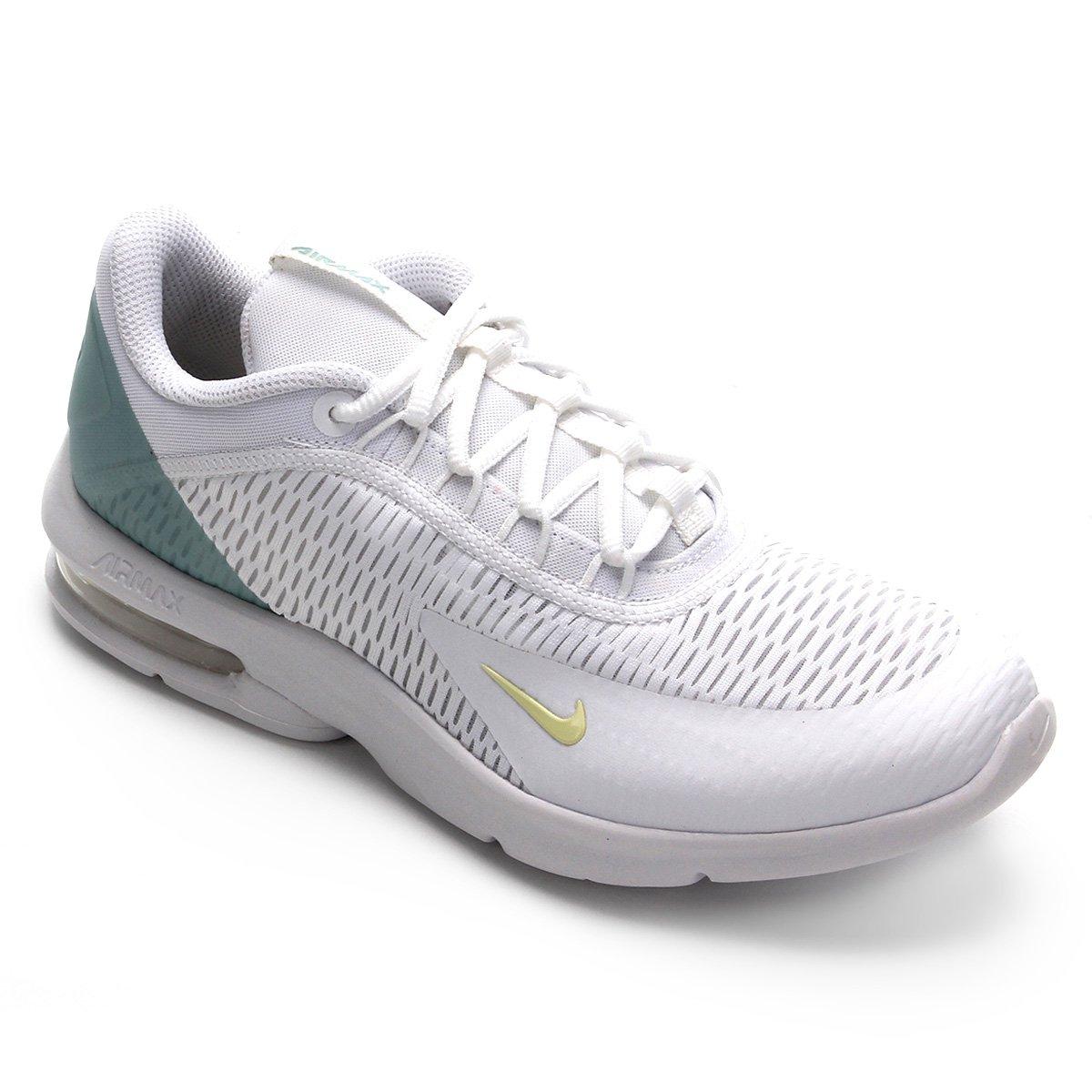 Tênis Nike Air Max Advantage 3 Feminino Branco E Verde