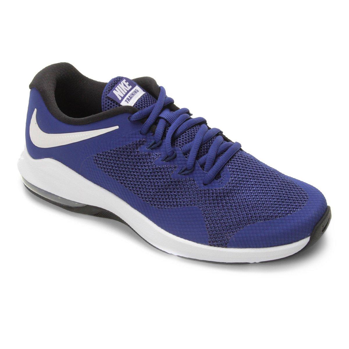 6bb39e9601 Tênis Nike Air Max Alpha Trainer Masculino - Azul Escuro | Allianz Parque  Shop