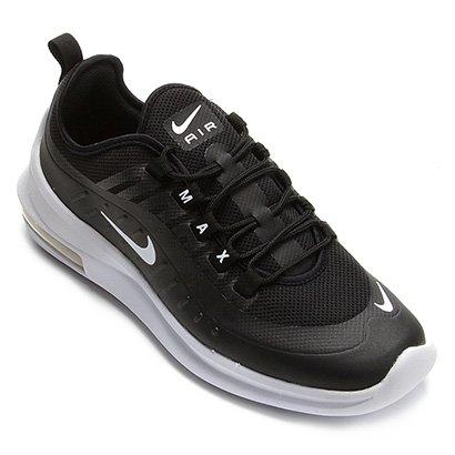 Tênis Nike Air Max Axis Masculino Branco e Preto | Allianz
