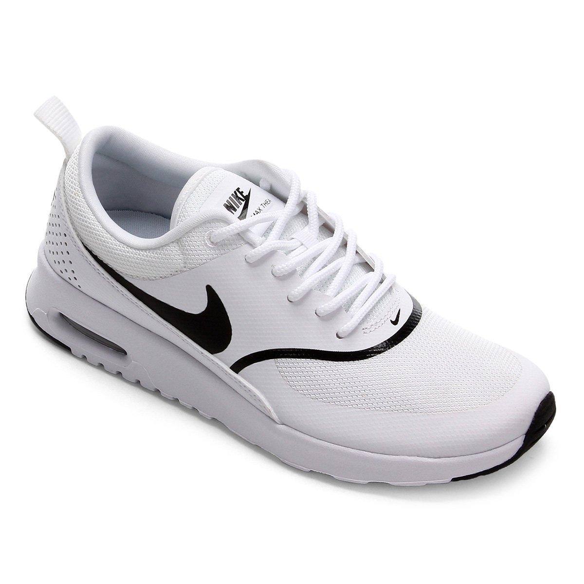 Tênis Nike Air Max Thea Feminino Branco E Preto