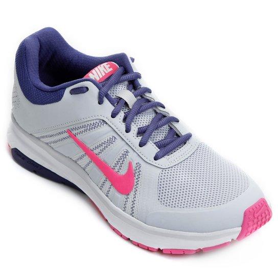 Tênis Nike Dart 12 Msl Feminino Cinza E Rosa