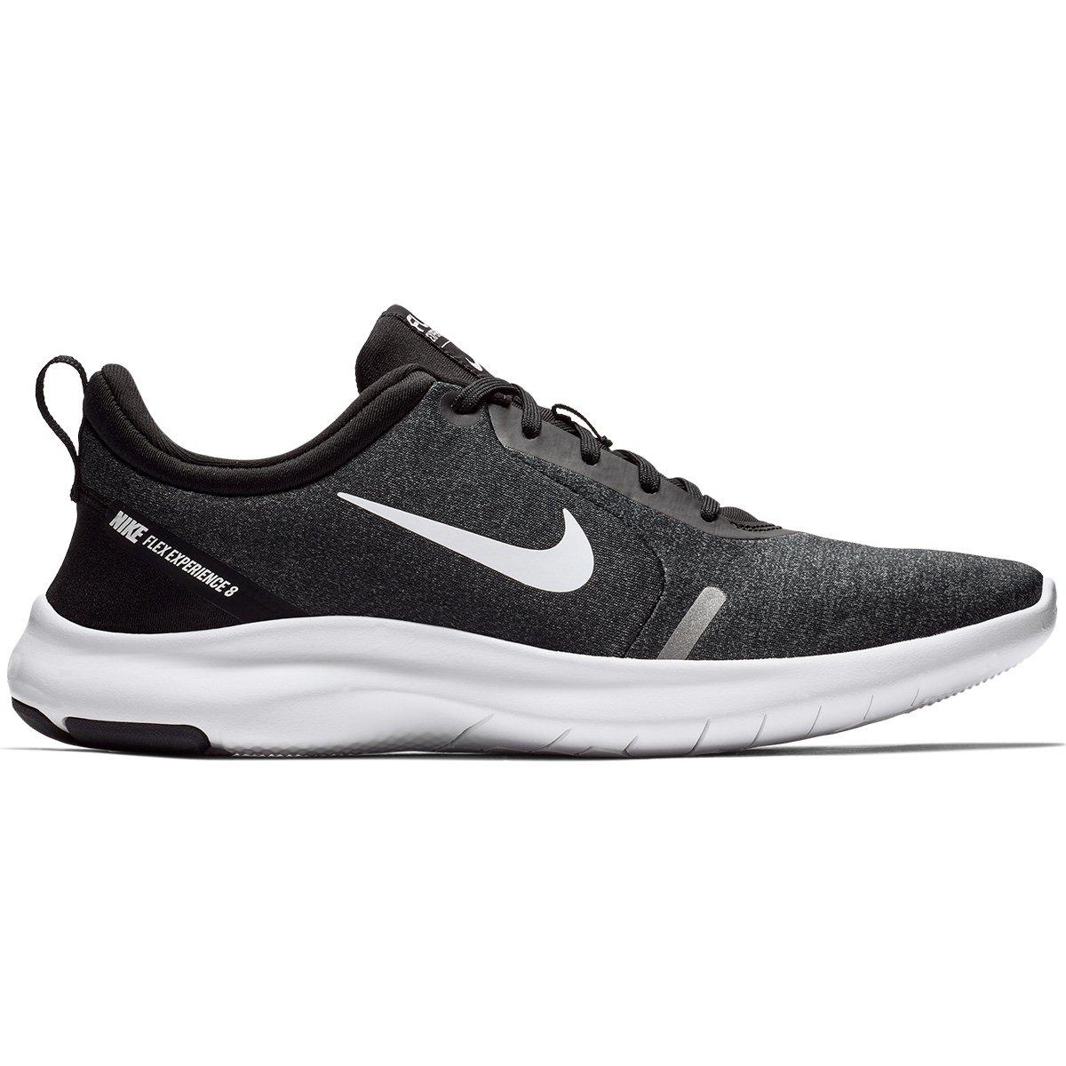 0f63eae8a8096 Tênis Nike Flex Experience Rn 8 Masculino - Preto e Branco - Compre Agora