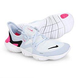 Tênis Nike Free Run 50 Feminino Branco E Preto Allianz