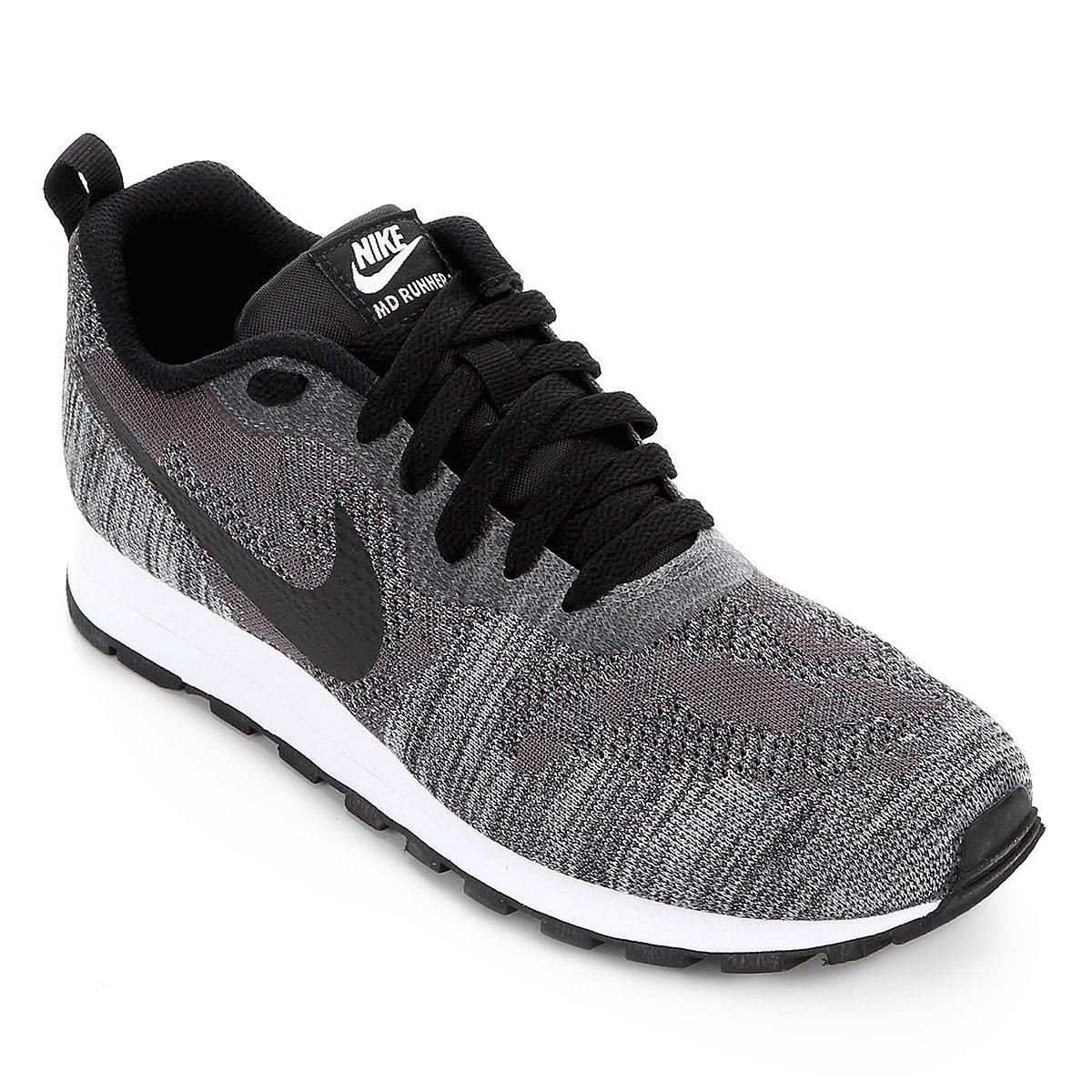 Tênis Nike Md Runner 2 19 Feminino Preto E Chumbo