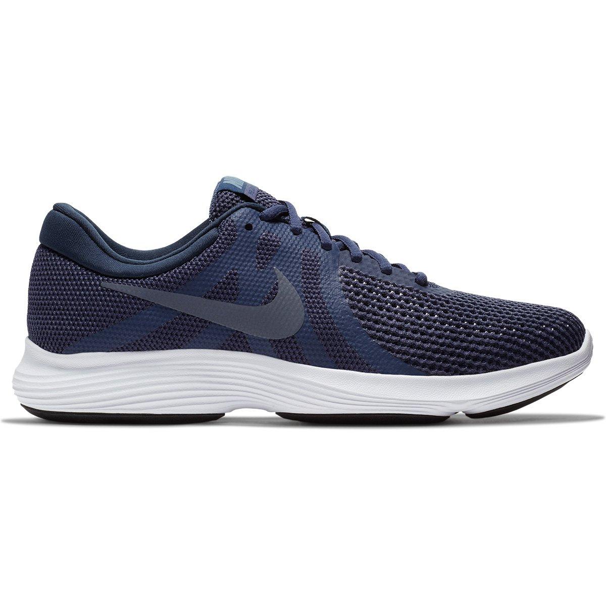 6c328599259 Tênis Nike Revolution 4 Masculino - Azul e Cinza - Compre Agora ...