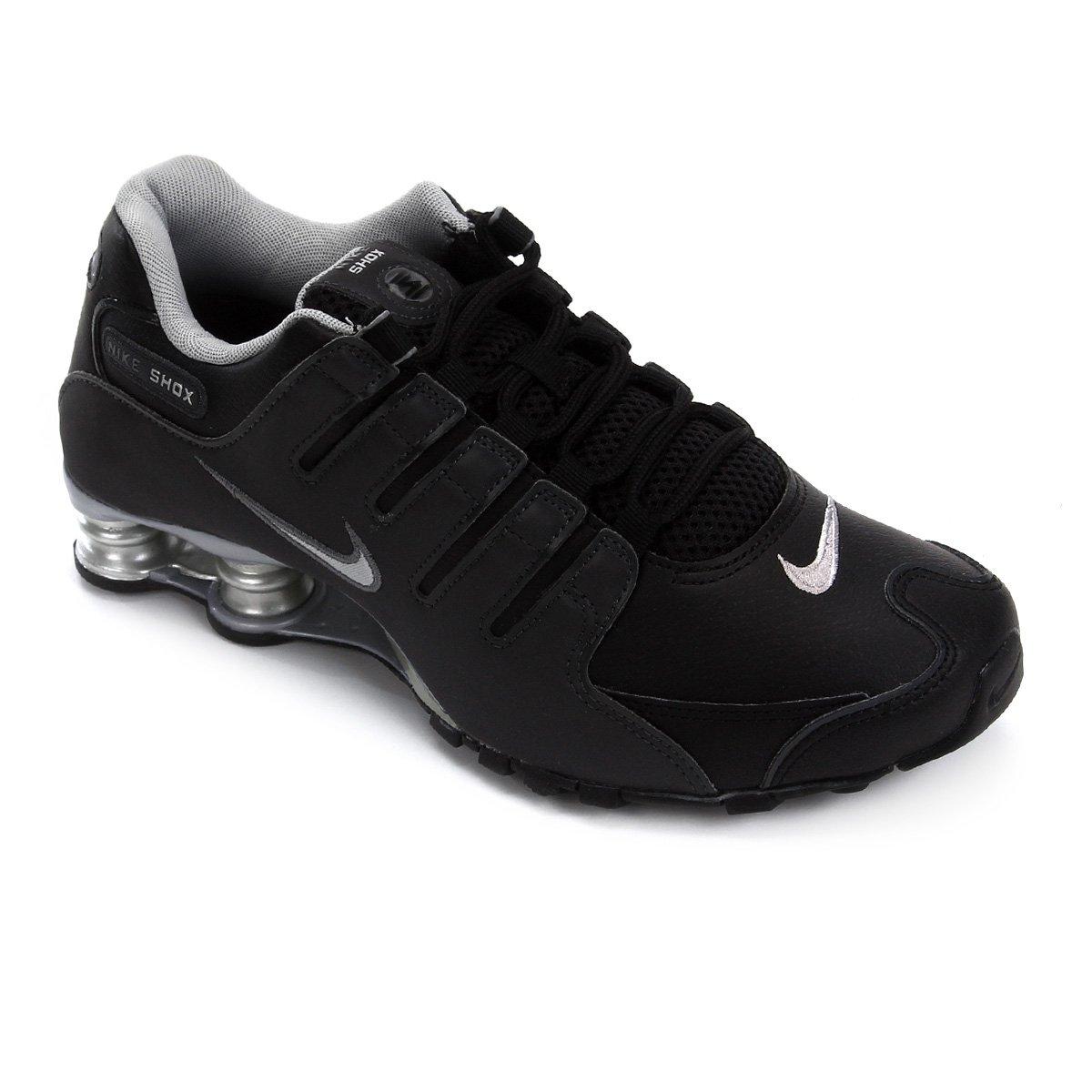 6c87ca600a Tênis Nike Shox Nz Eu Masculino - Preto e Prata | Allianz Parque Shop