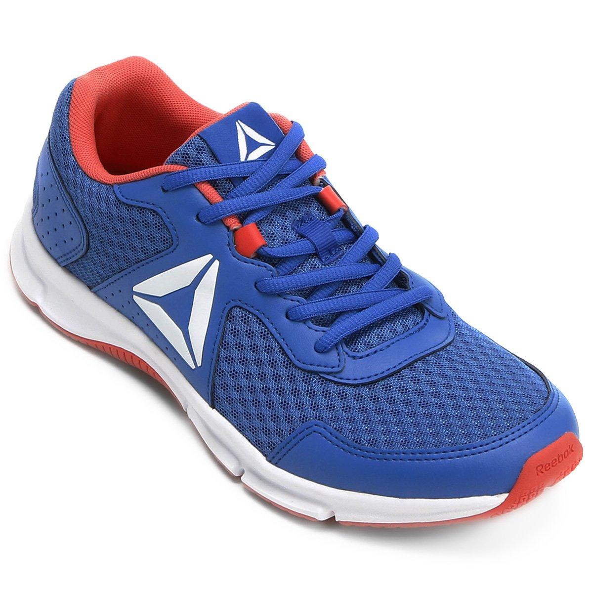 226a4fdb266 Tênis Reebok Canton Runner Feminino - Azul e Vermelho - Compre Agora ...