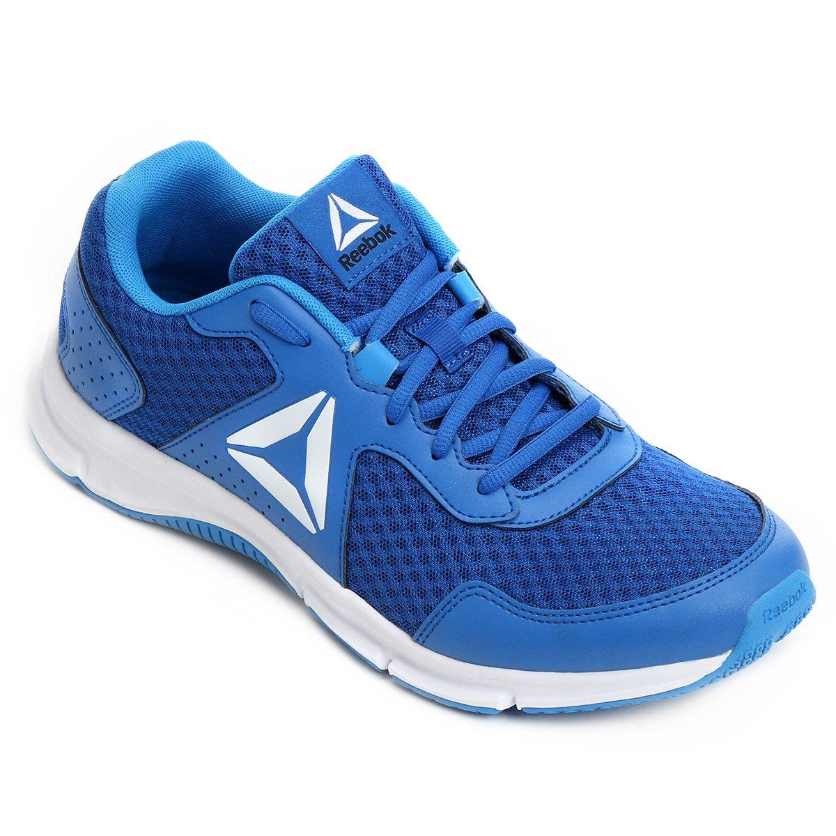 82fd6b58b84 Tênis Reebok Canton Runner Masculino - Azul e Branco - Compre Agora ...