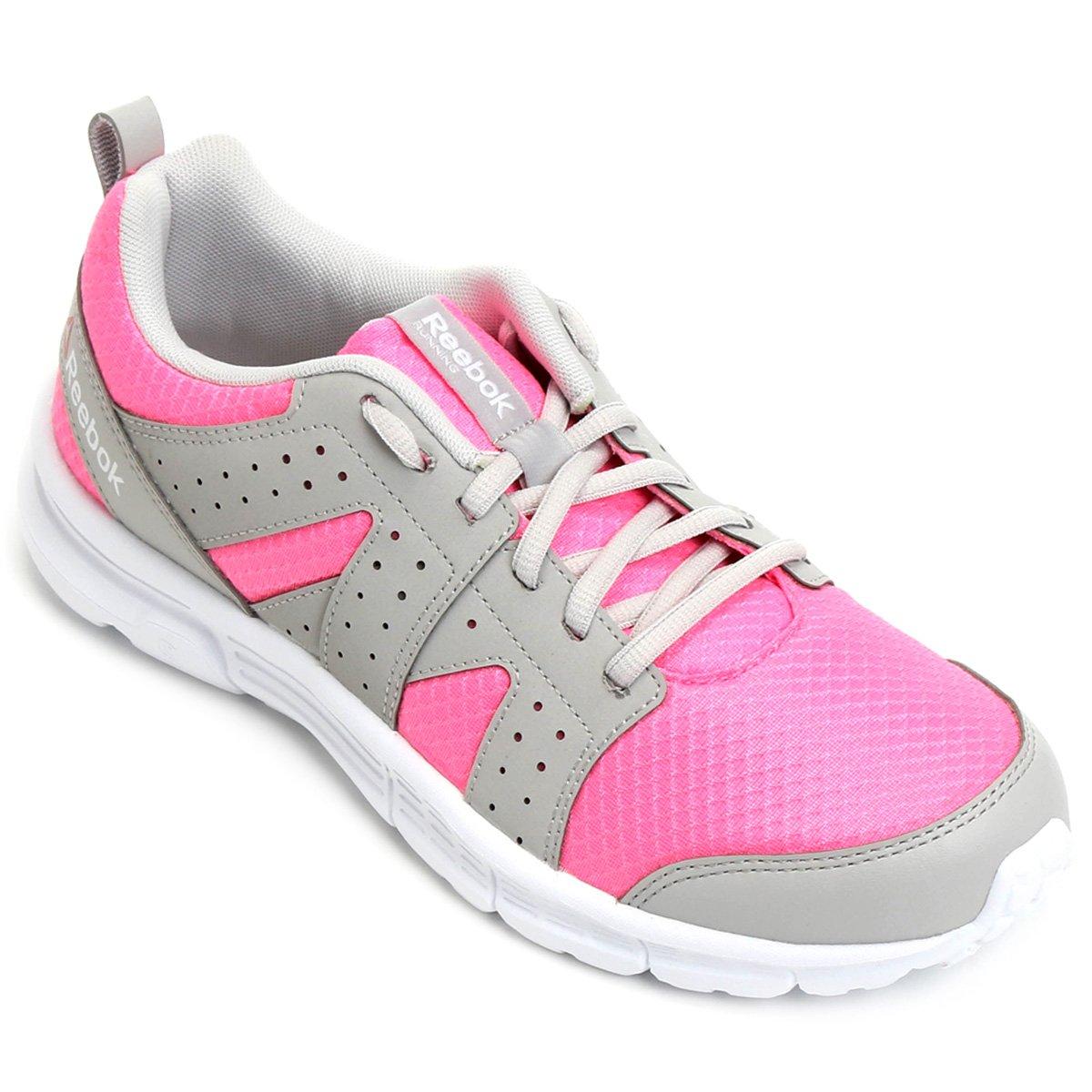 38a6cd3e411 Tênis Reebok Rise Supreme RG Feminino - Pink e Cinza - Compre Agora ...