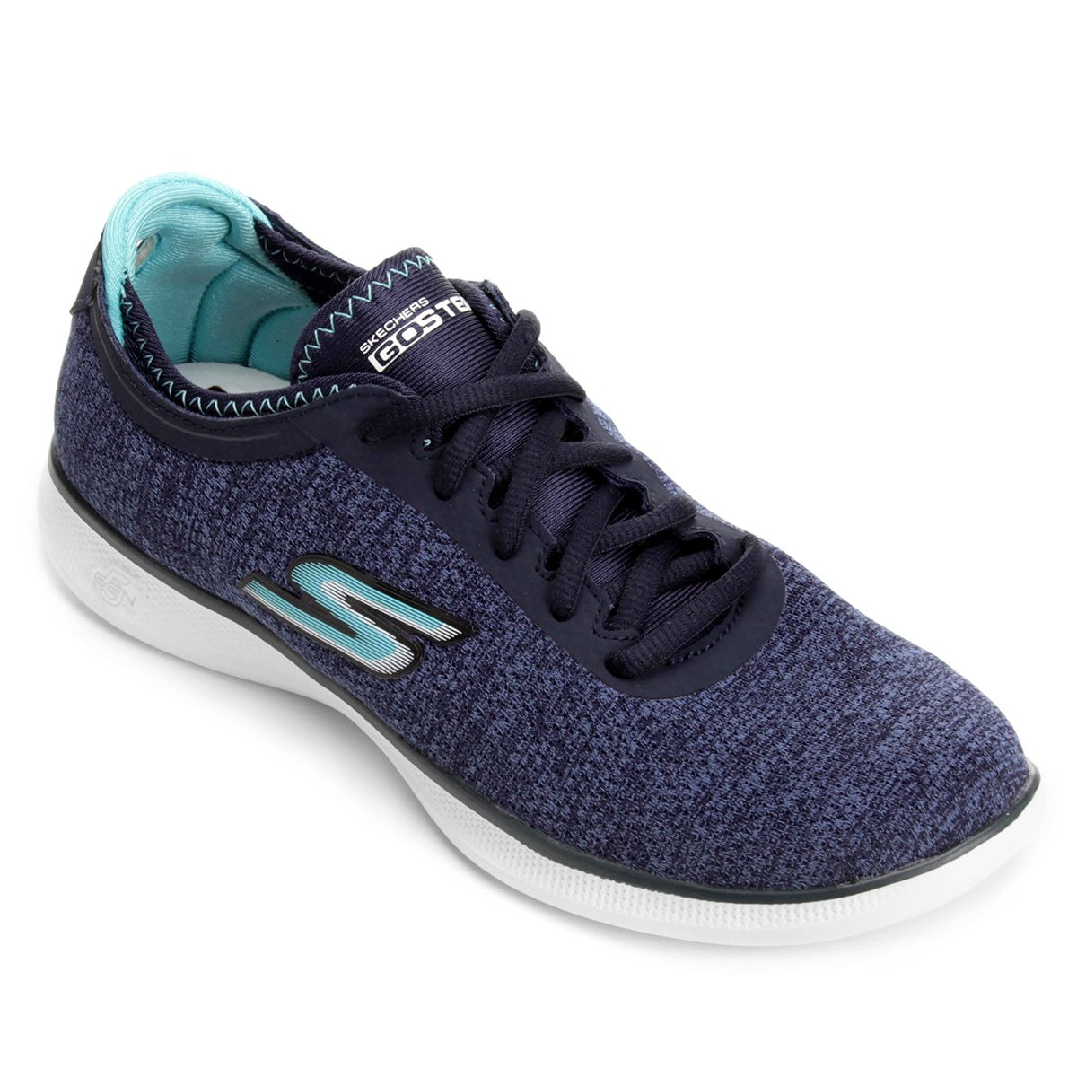 ee2d73ec2e Tênis Skechers Go Step Lite Agile Feminino - Azul Escuro - Compre ...