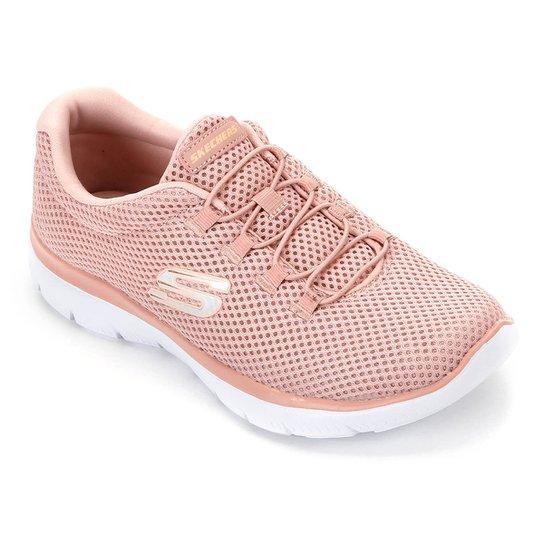 tenis skechers rosas