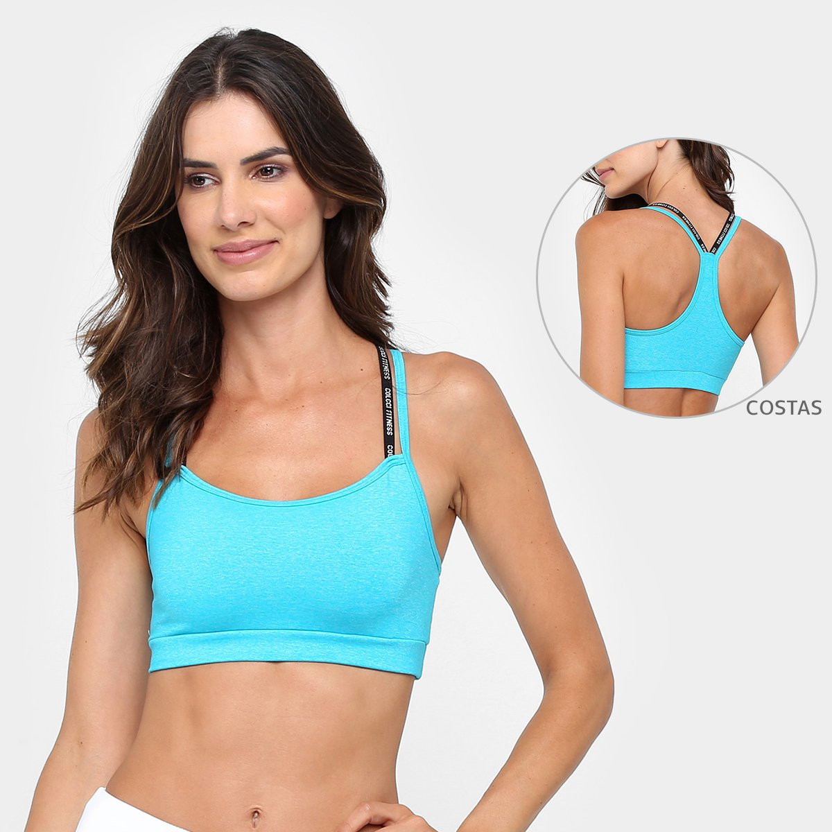 e50749bda Top Colcci Fitness Feminino - Compre Agora | Allianz Parque Shop