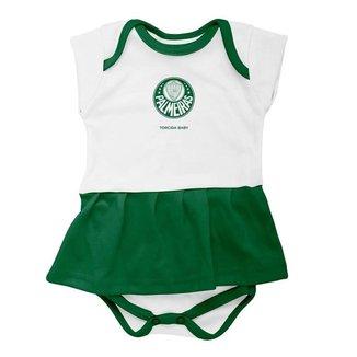 Vestido Body Torcida Baby Palmeiras 033 BX Infantil
