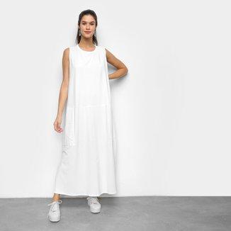 Vestido Colcci Midi Liso