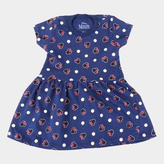 Vestido Infantil Disney Minnie Full
