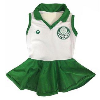 Vestido Polo Torcida Baby Palmeiras 048 Infantil