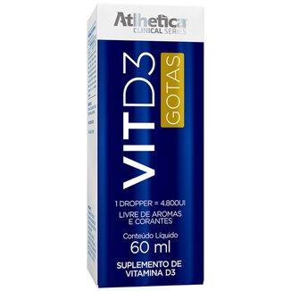 Vit D3 - 60Ml - Clinical Series - Atlhetica