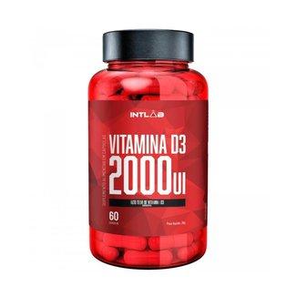 Vitamina D3 2000Ui 60 Cápsulas - Intlab