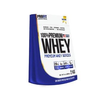 Whey 100% Premium 2kg (refil) - ProFit