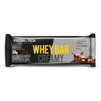 Whey Bar Creamy 12un 38G