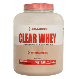 Whey Protein 100% Isolate Clear 1,81kg - Cellgenix