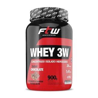 Whey Protein 3W 900g - FTW