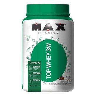 Whey Protein Top Whey 3W Mais Natural 900 g - Max Titanium